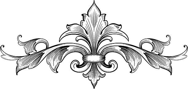 Royalty Free Acanthus Leaves Clip Art, Vector Images