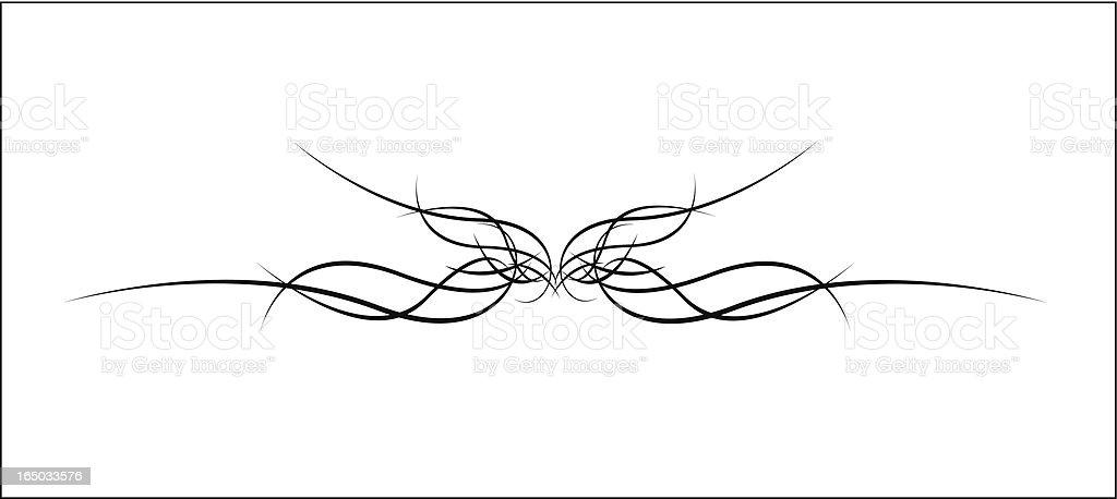 Accent border ( Vector ) royalty-free stock vector art