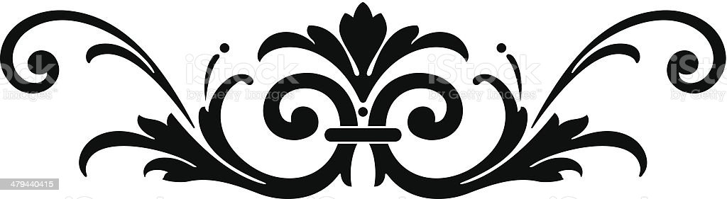 accent12 royalty-free stock vector art