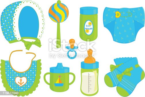 istock accessories for baby boy 119477040