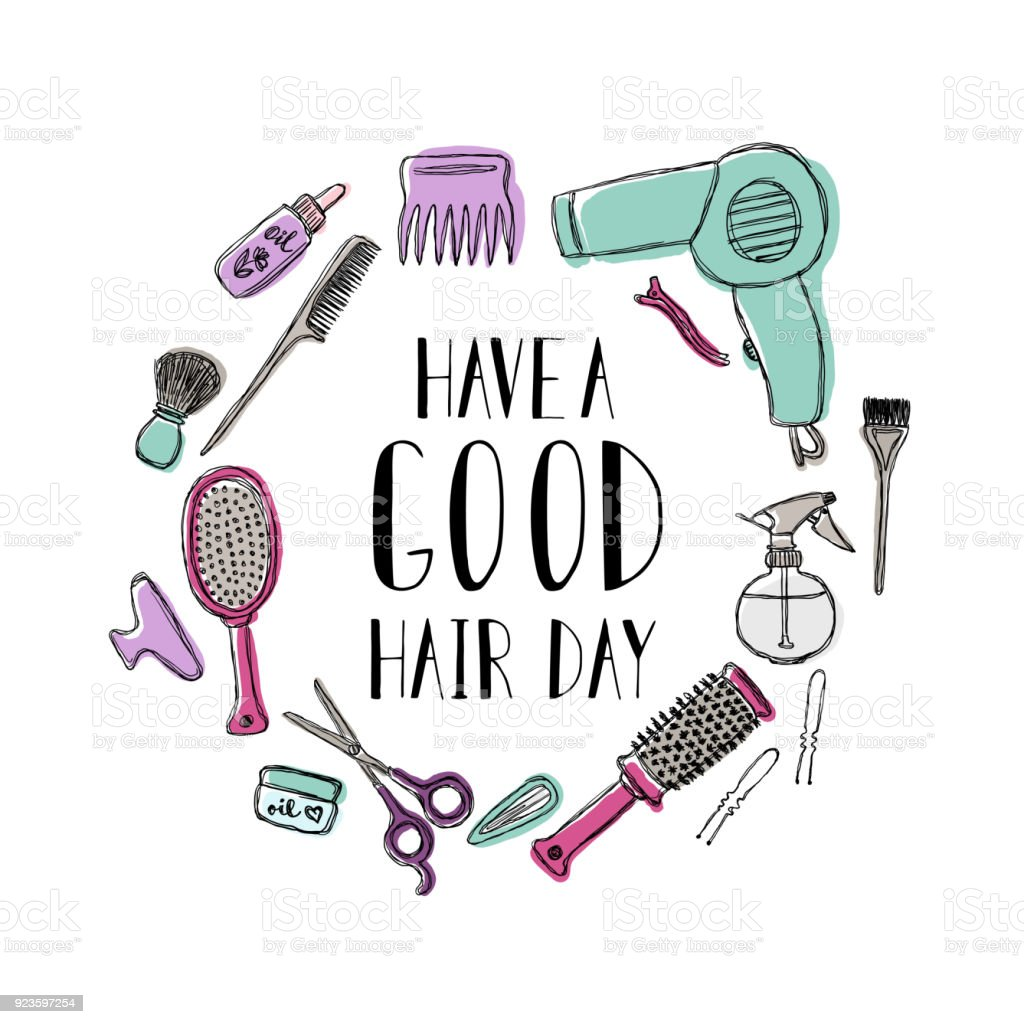 accessories for the hairdresser s motivational quote have a good