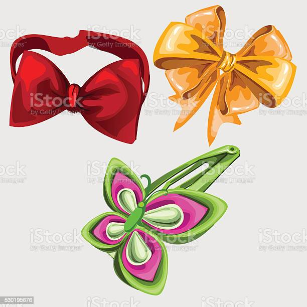 Accessories in shape of butterfly tie and hairpin vector id530195676?b=1&k=6&m=530195676&s=612x612&h=nnhtfoy0truz7 el2oiqu2dqf6gfkt1ou64l h05  i=