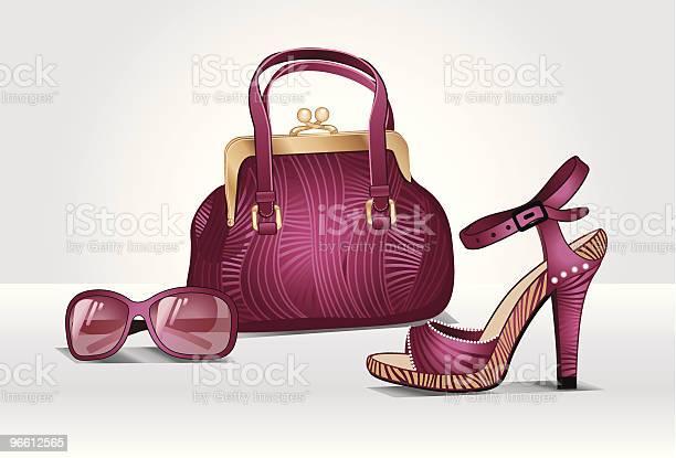 Accessories Pink Passion-vektorgrafik och fler bilder på Bag