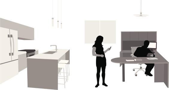 Accommodative Vector Silhouette