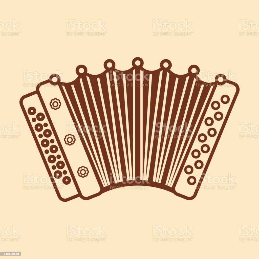 Instrumento Para Ilustración De Acordeón Niños Juguete Musical Del QCxhrstdB