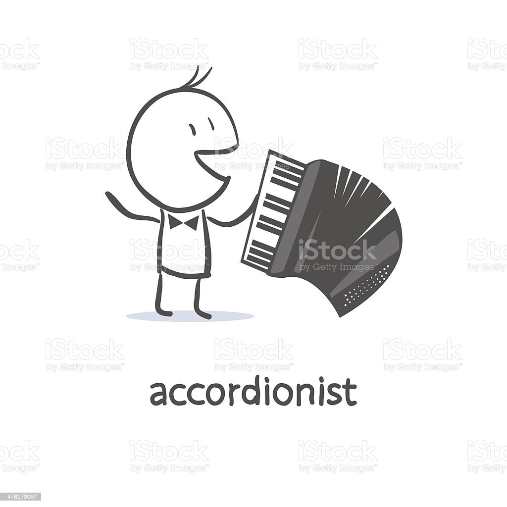 Accordionist royalty-free accordionist stock vector art & more images of accordion