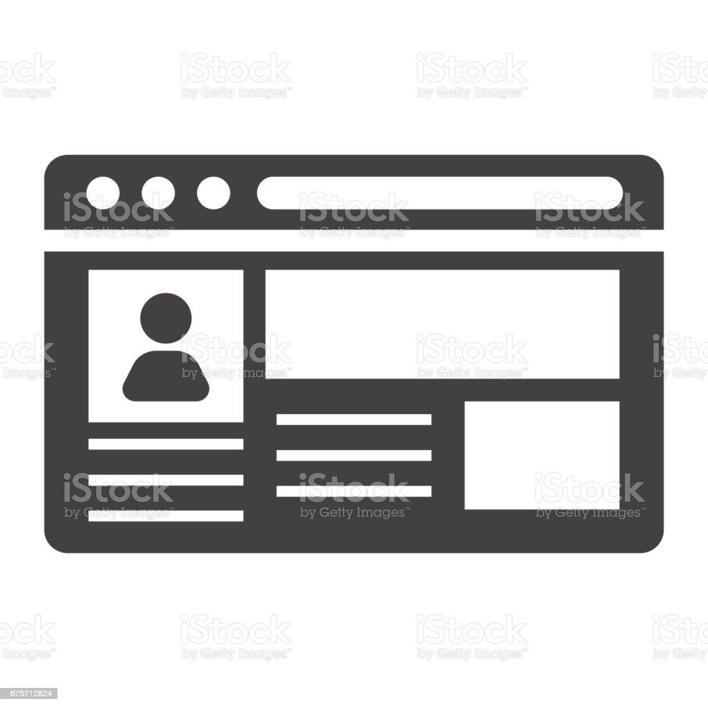 帳戶固體圖示、 社交媒體和網站按鈕,向量圖形,在白色的背景下,eps 10 的填充模式。 免版稅 帳戶固體圖示 社交媒體和網站按鈕向量圖形在白色的背景下eps 10 的填充模式 向量插圖及更多 原木 圖片