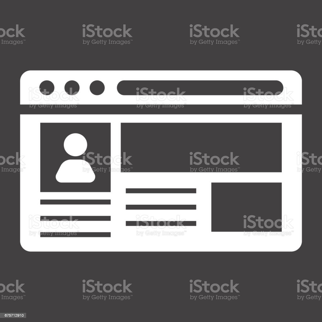 帳戶固體圖示、 社交媒體和網站按鈕,向量圖形,在黑色的背景,eps 10 的填充模式。 免版稅 帳戶固體圖示 社交媒體和網站按鈕向量圖形在黑色的背景eps 10 的填充模式 向量插圖及更多 原木 圖片