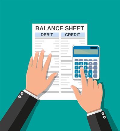 Accountant Gecontroleerd Saldo Stockvectorkunst en meer beelden van Accountancy