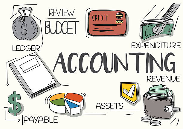 Accounting Concept Vector Art Illustration