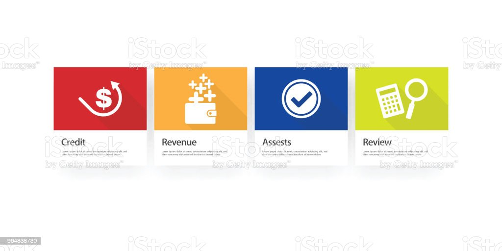 Accounting Infographic Icon Set royalty-free accounting infographic icon set stock vector art & more images of bank