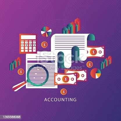 India,USA,gradient color,Accounting, Business, Checklist,calculator