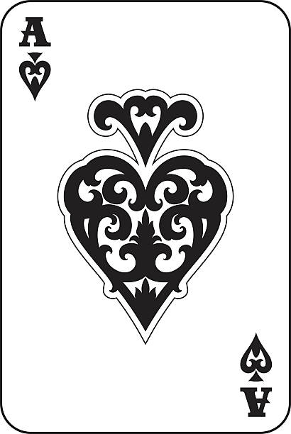 Best Ace Of Spades Illustrations, Royalty-Free Vector