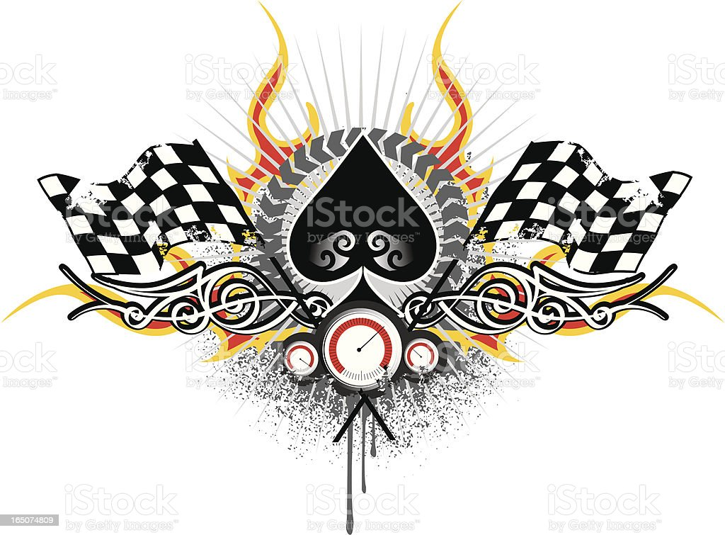 ace of spades racing composition