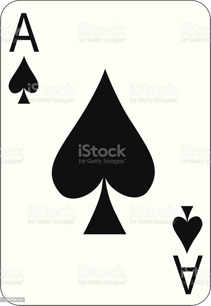 Ace royalty-free ace stock vector art & more images of ace