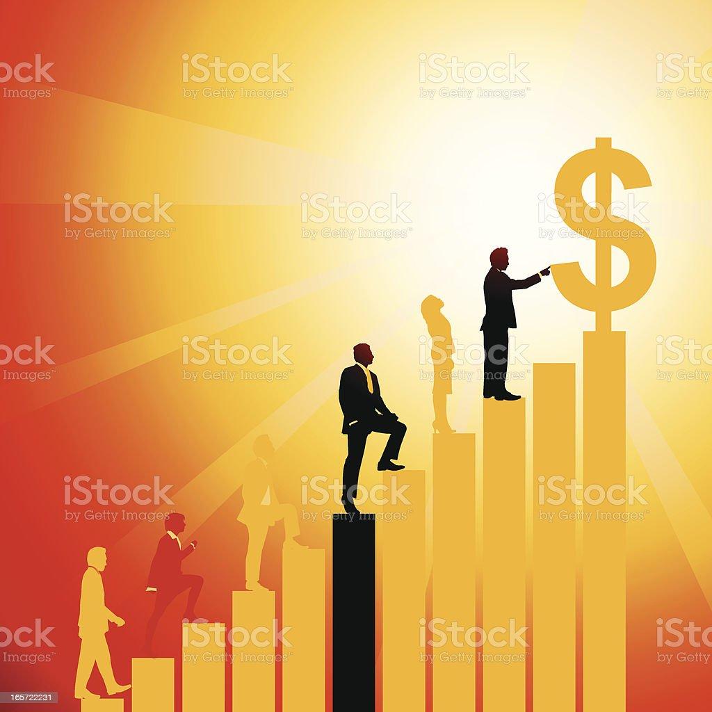Achievement royalty-free stock vector art