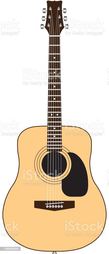 Acoustic Guitar Stock Vector Art More Images Of Acoustic Guitar