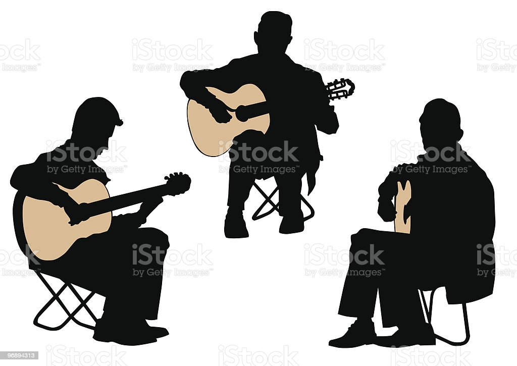 Acoustic guitar royalty-free acoustic guitar stock vector art & more images of acoustic guitar