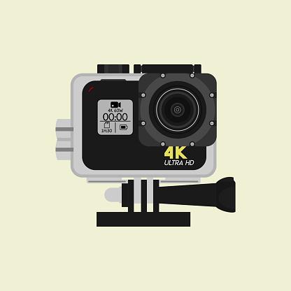 Action Camera Vector Template