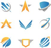 Action logos and icons