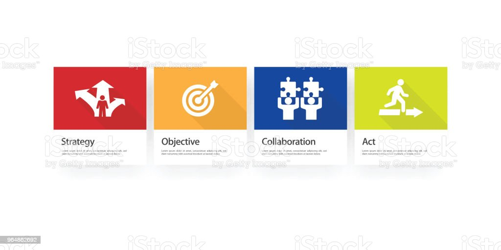 Action Plan Infographic Icon Set royalty-free action plan infographic icon set stock vector art & more images of abstract