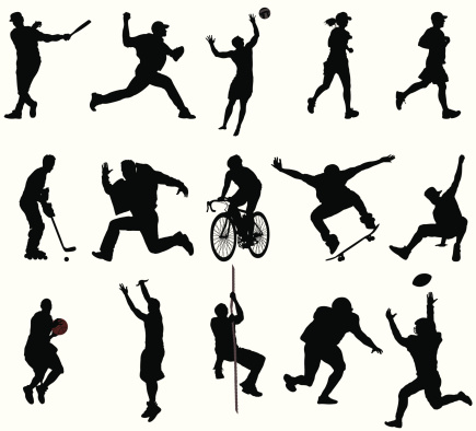 Action Sports Silhouettes