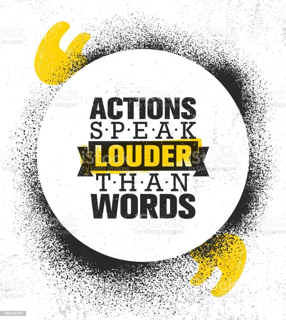 Zitat Taten Sagen Mehr Als Worte
