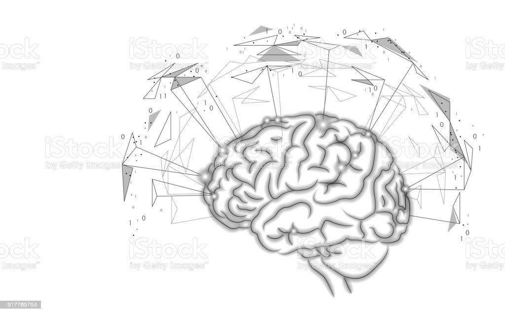 Aktiven Menschlichen Gehirns Künstliche Intelligenz Nächste Ebene ...