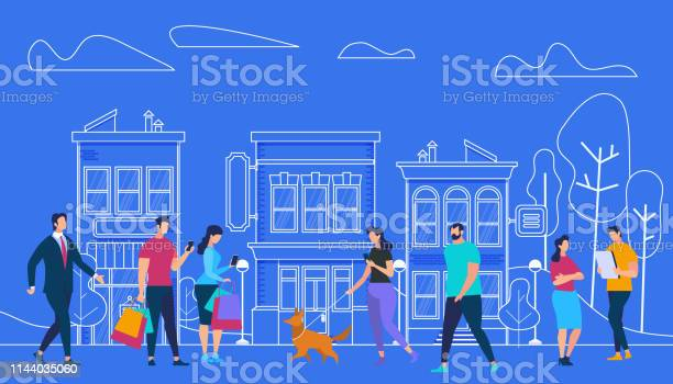 Active people lifestyle city view and houses vector id1144035060?b=1&k=6&m=1144035060&s=612x612&h=lh0uvrhhr1ygipmse 6x1mdz1dmiioei30h er9urbs=
