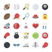 Activity Flat Icons Pack