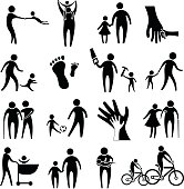 activity of father and child
