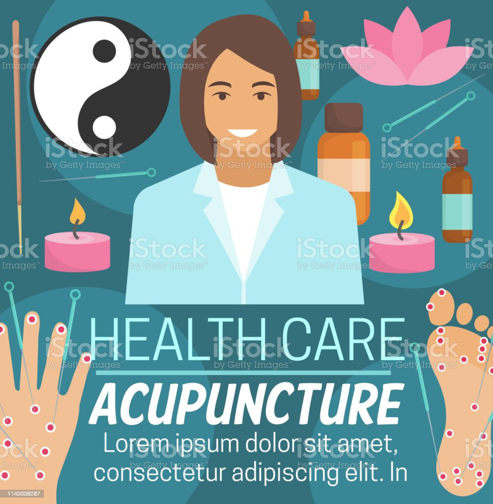 Acupuncture alternative medicine or Chinese traditional medical...