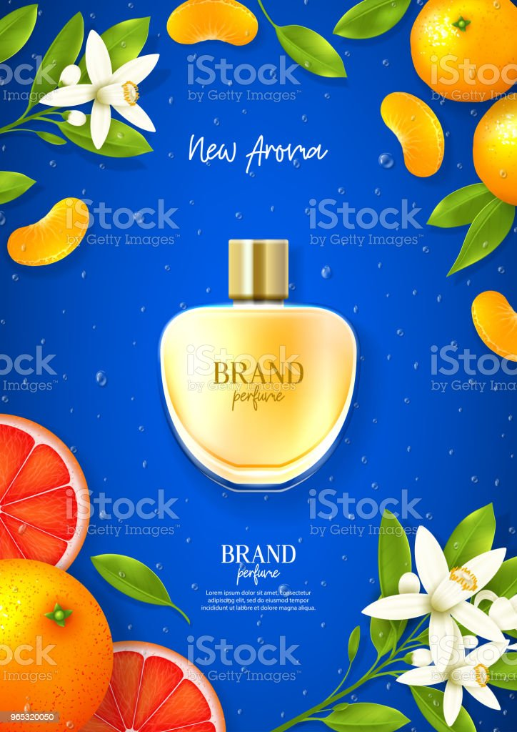 Ad poster of luxury perfume brand royalty-free ad poster of luxury perfume brand stock vector art & more images of adult