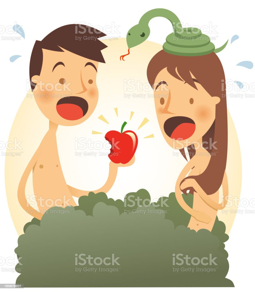 Adam And Eve Royalty Free Adam And Eve Stock Vector Art More Images