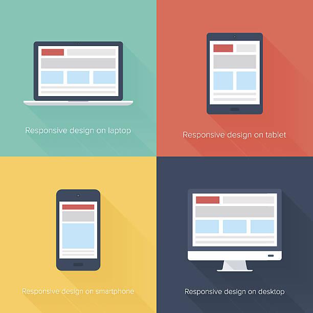 Adaptive web-design – Vektorgrafik