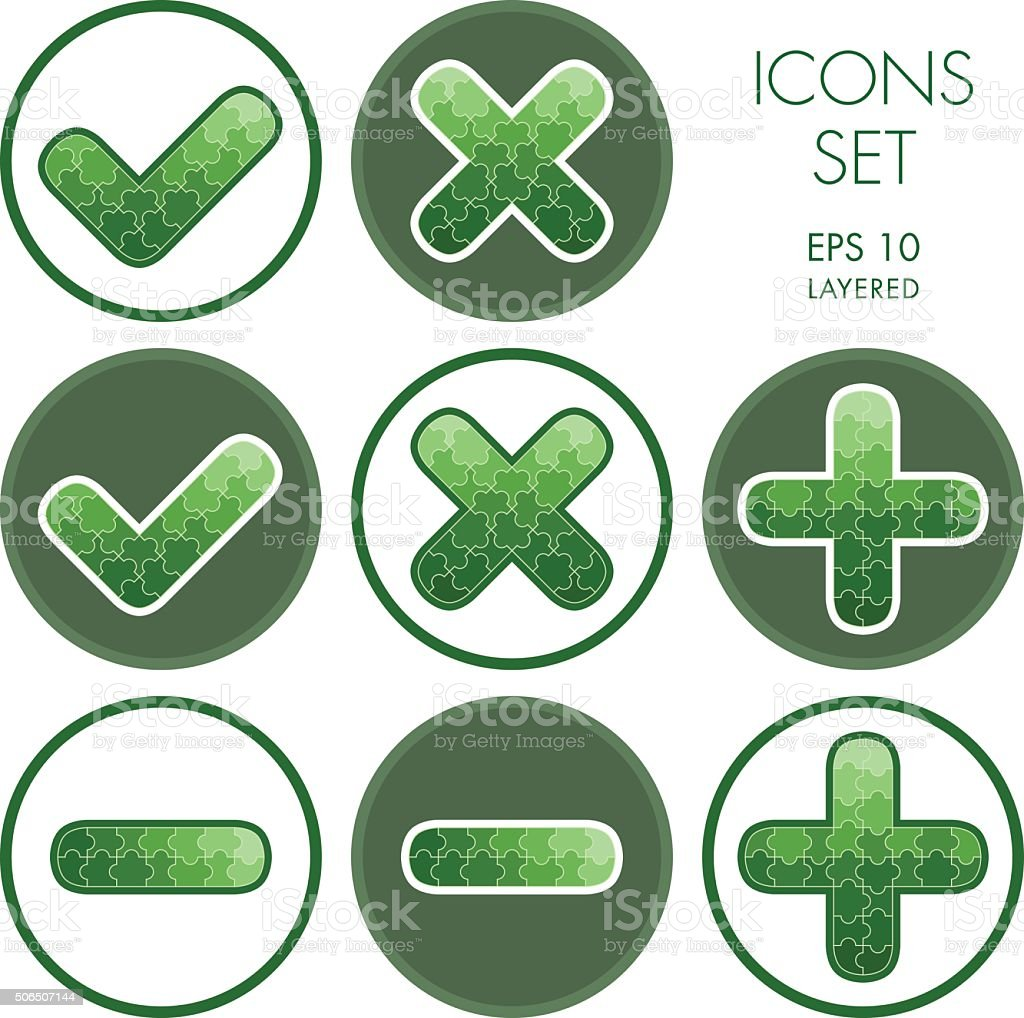 Add cancel plus and minus signs icons stock vector art more add cancel plus and minus signs icons royalty free add cancel plus and minus biocorpaavc