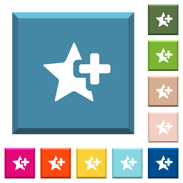 Royalty Free Star Symbol Keyboard Clip Art Vector Images
