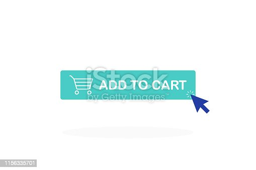 Add to cart button. Shopping Cart icon.