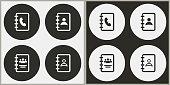 istock Address book - vector icon. 908944486