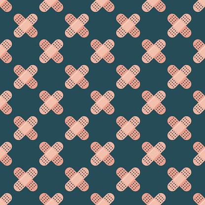 Adhesive Bandages Pattern