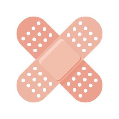 Adhesive Bandages Vaccine Icon