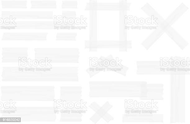 Adhesive Tape - Arte vetorial de stock e mais imagens de Antigo