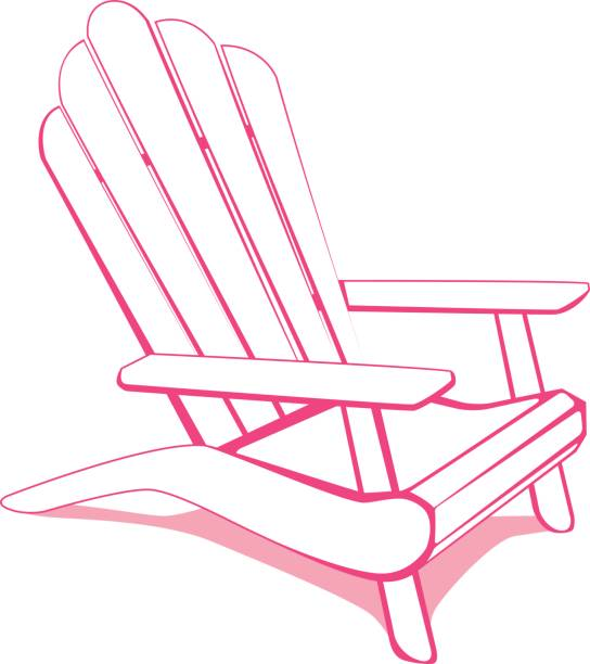 Royalty Free Deck Chair Clip Art, Vector Images ...