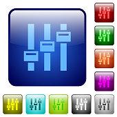 Adjust color square buttons