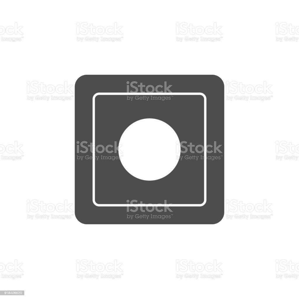 Einstellbare Lichtschaltersymbol Elemente Der Websymbol ...