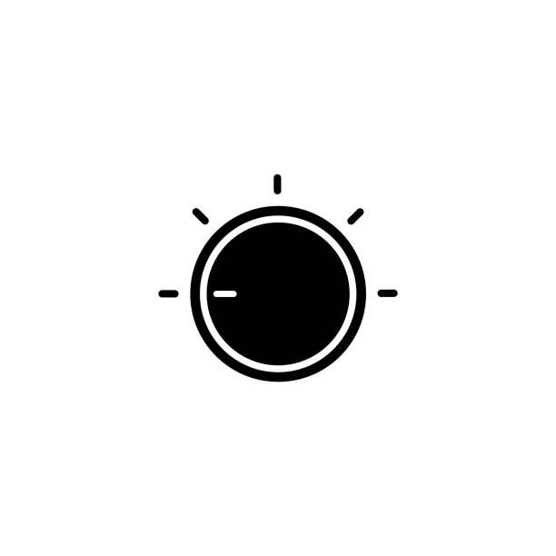 Adjustment button Adjustment button, Volume Knob, Push Button, Circle, minimum wage stock illustrations