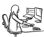 istock AdministrationDesktopWork 1303598568