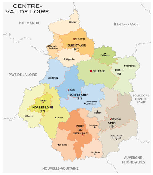 Région Centre Vectoriels et illustrations libres de droits - iStock