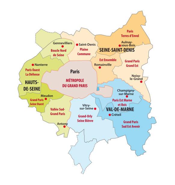 Region Parisienne Vectoriels Et Illustrations Libres De Droits Istock