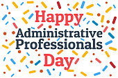 istock Administrative Professionals Day, Secretaries Day or Admin Day. Holiday concept. Template for background, banner, card, poster with text inscription. Vector EPS10 illustration. 1204416887